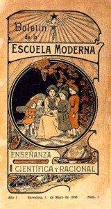 La Escuela Moderna FERRER I GUARDIA dans Pedagogía libertaria Escuela-Moderna1-160x300