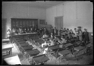 La organización de las Escuelas Normales J. A. NÚÑEZ dans Historia de la educación chilena escuela-normal-300x213